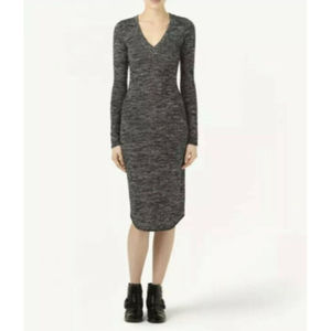 ARITZIA Wilfred Free Lisiere Dress Bodycon Midi